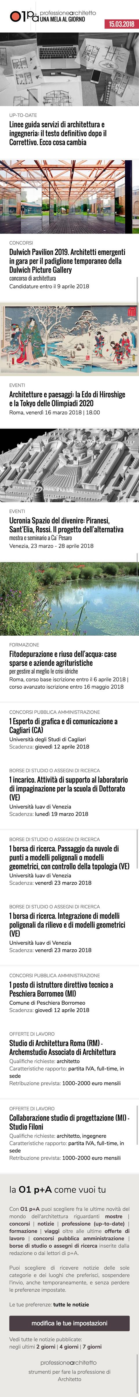 Offerte Lavoro Architetto Treviso 01 professione architetto - una mela al giorno