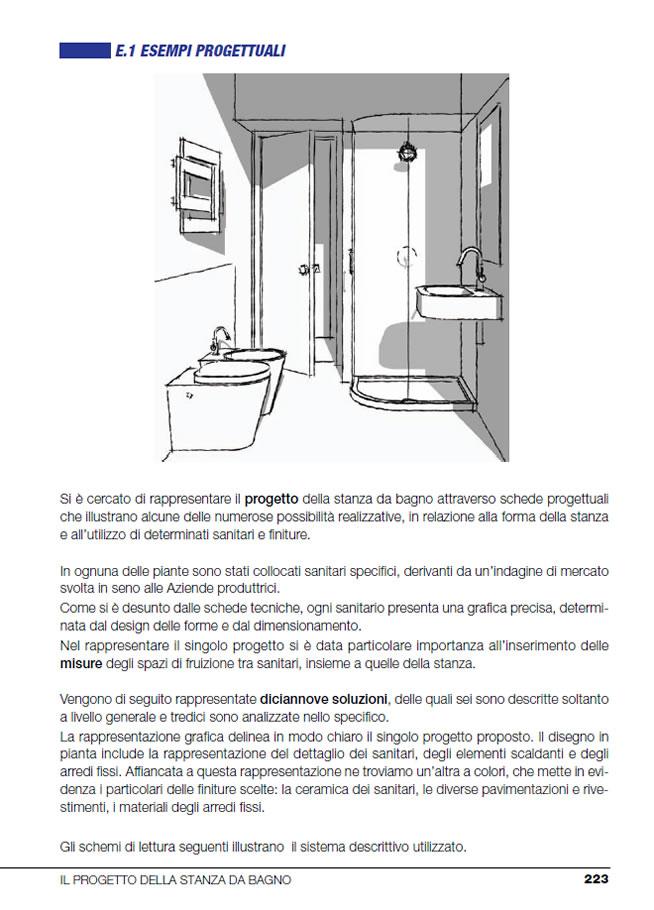 Abitare collana dedicata all'interior design - La stanza da bagno  La zona notte
