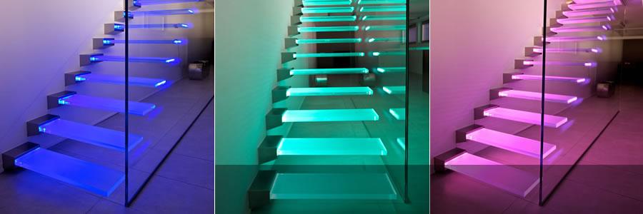 Vitrealspecchi tutta la qualit madras per pavimenti e - Scale in vetro ...