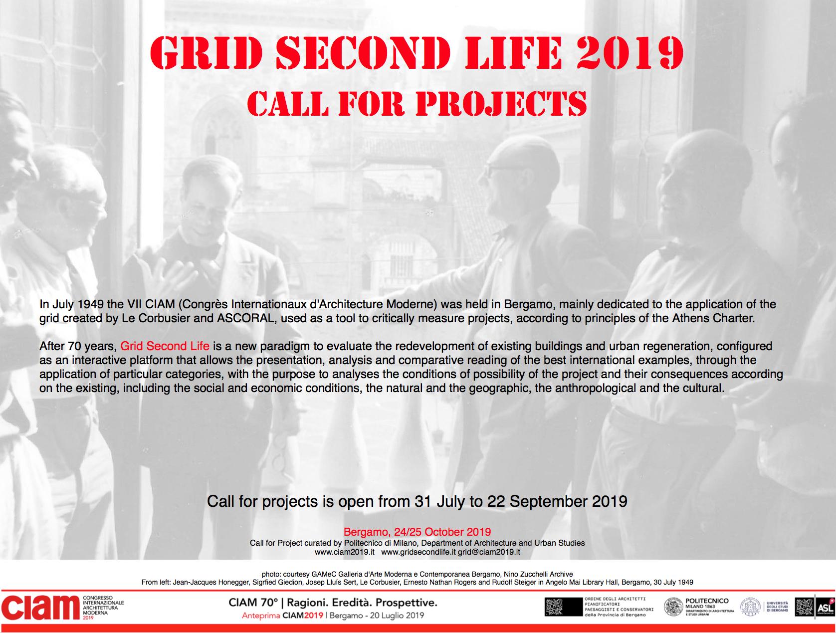 Offerte Lavoro Architetto Bergamo grid second life. si cercano progetti di recupero da