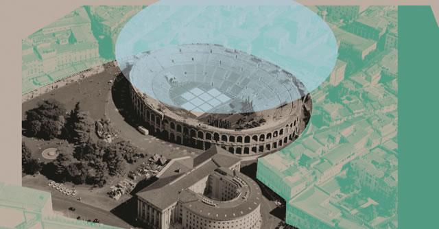 Concorso internazionale per coprire l'Arena di Verona