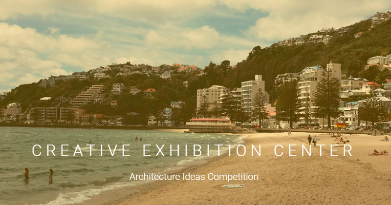 Creative Exhibition Center in Wellington. Un centro espositivo in Nuova Zelanda