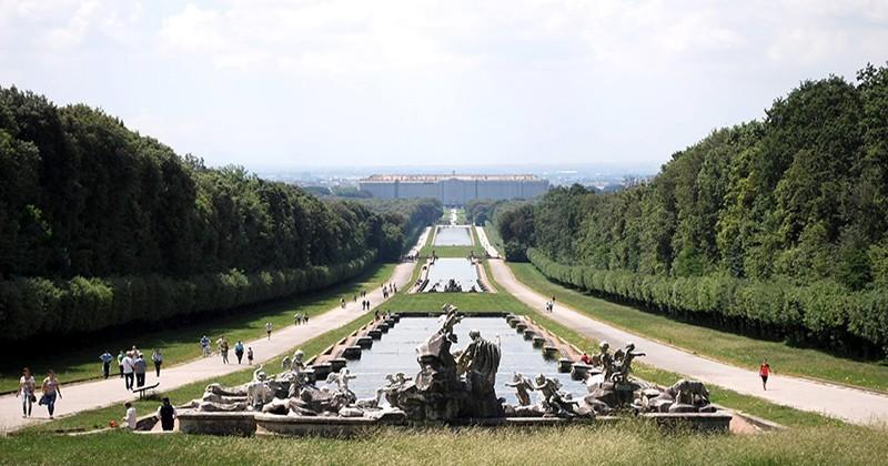 Reggia di Caserta, 3 opere d'arte dal recupero del legno del Parco Reale