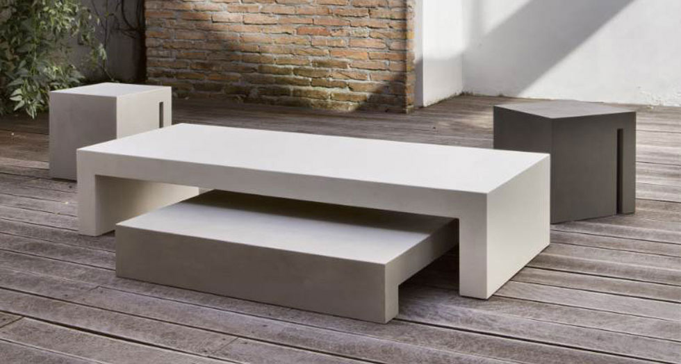Il cemento componibile di hd more p a design for Arredo minimal home