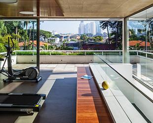 S o paulo il lusso di casa p a design for Piani casa sul tetto di bassa altezza