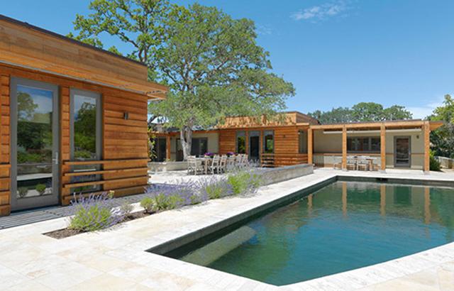 Il ranch contemporaneo di maccracken architects p a design for Costo di aggiungere un portico di fronte a una casa