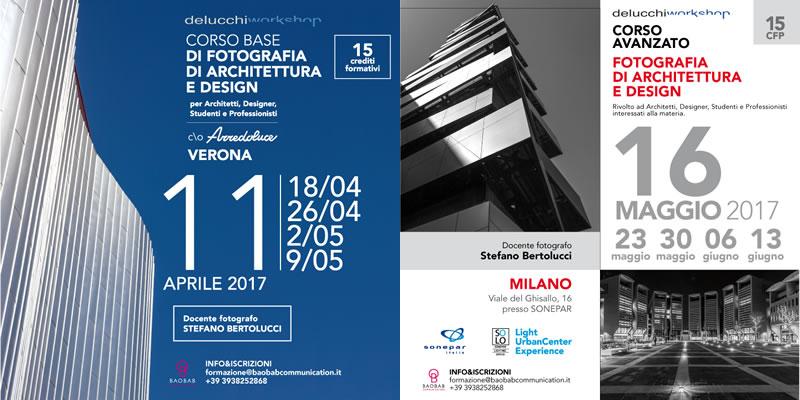 Fotografia di architettura e design corso base a verona e for Architettura e design milano