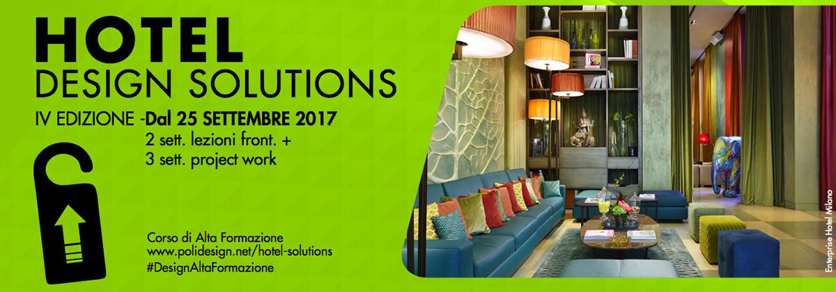 Hotel design solutions a settembre 2017 il corso firmato for Hotel design 2017