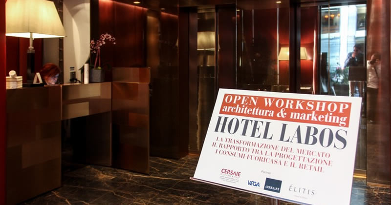 Nuovi Open workshop gratuiti del ciclo Hotel Labos 2018 - Architettura & Marketing