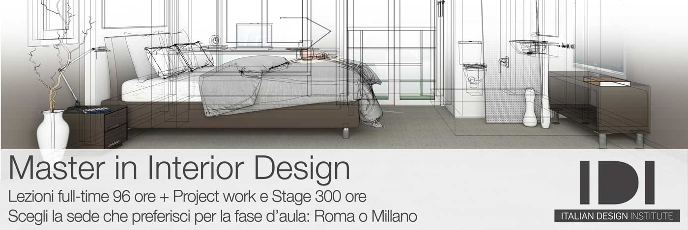 Diventa Interior Designer con un Master full-time. Project work finale e Stage 300 ore