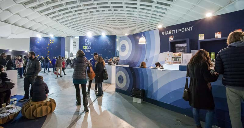 Progettare con i container: un workshop per realizzare la welcome area di Paratissima 2018