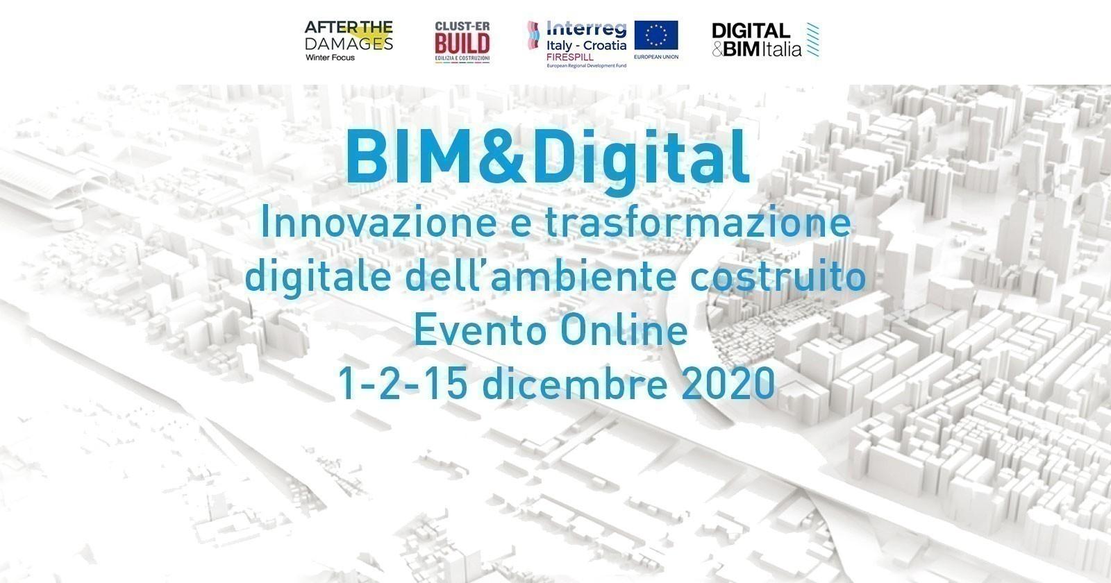 BIM&Digital - Innovazione e trasformazione digitale dell'ambiente costruito