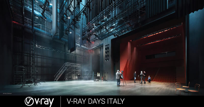 V-Ray Days 2016 Italia. I segreti di V-Ray svelati da Chaos Group per la prima volta in Italia