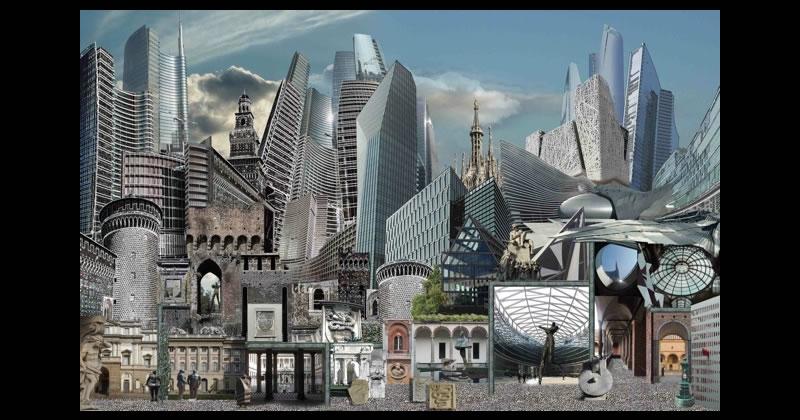 Prospettive urbane ritratto di citt il paesaggio urbano for Giorgio iv milano