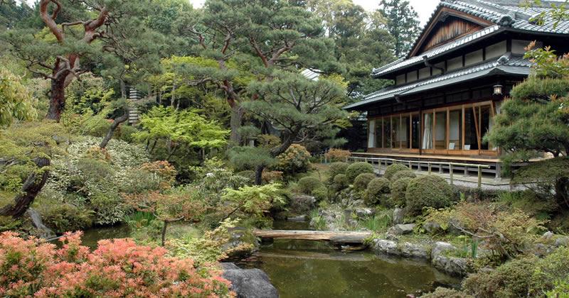 Al maxxi orizzonte giappone la storia del giardino giapponese for Giardino giapponesi