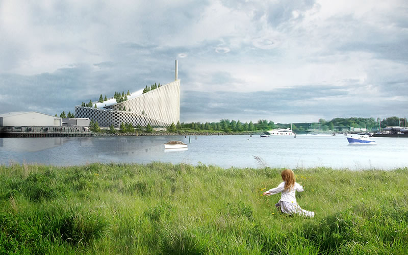Amager Bakke, impianto Waste-to-Energy a Copenaghen / progetto: BIG