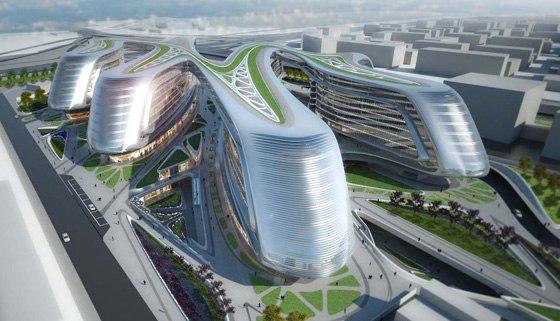 Vegetecture al made expo 2011 - Hadid architetto ...