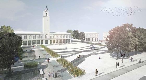 Le radici della citt nel progetto per la piazza del for Disegno del piano di architettura