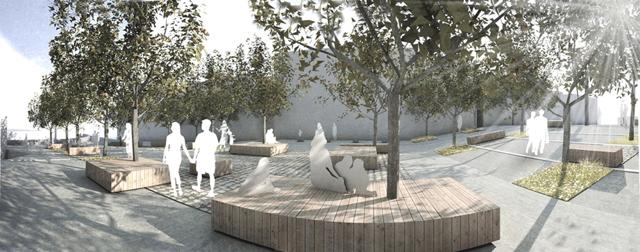 Parco della rimembranza la conquista di un nuovo spazio a for Un arredo urbano