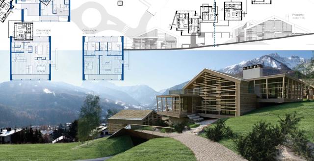 Bardonecchia torino scelto il concept per il nuovo for Concorsi di architettura