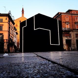 Architettura e smart city atterra a piacenza il cubo for Architettura temporanea