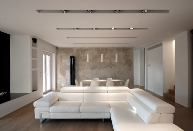 Industrial chic quando il design contemporaneo diventa for Appartamento oltre il costo del garage