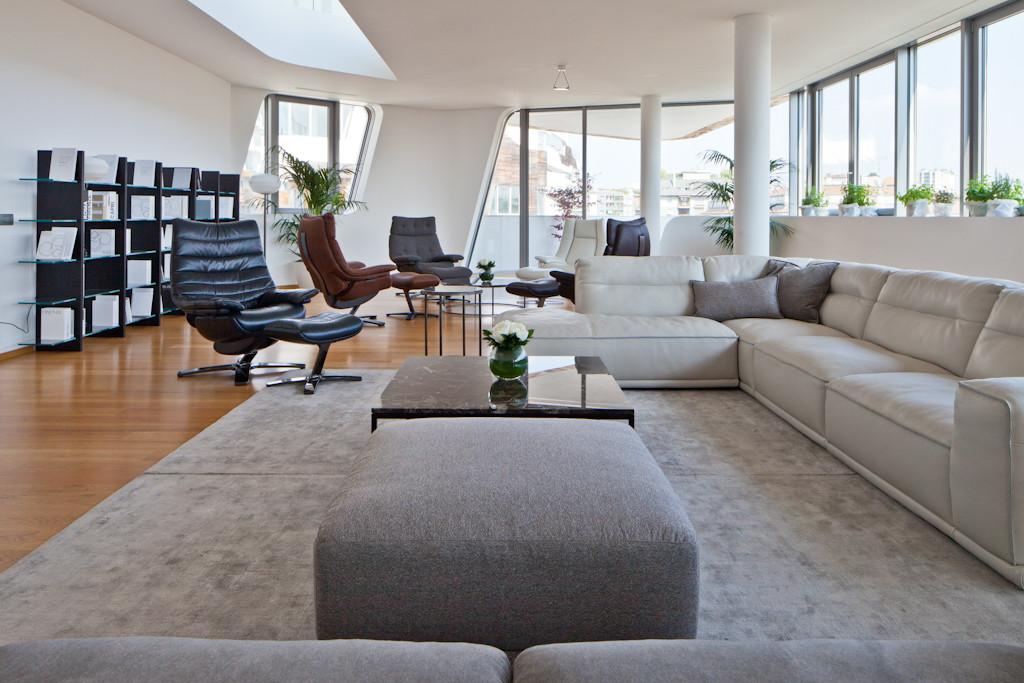 Natuzzi firma gli interni delle residenze di zaha hadid a for Design di interni milano