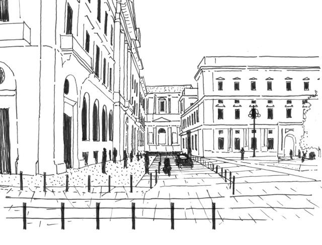 Piazza scala a milano vince il team del giovane for Lavoro architetto milano
