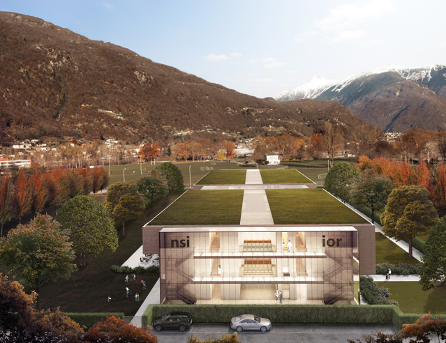 Il maestro dell 39 architettura ticinese galfetti si - Bagno pubblico bellinzona ...