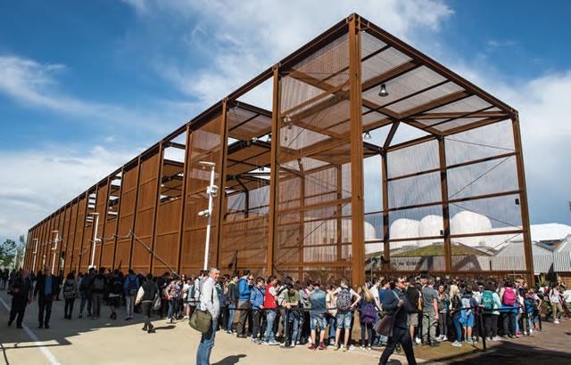 Expo 2015 in acciaio il 69 dei padiglioni il futuro for Architettura temporanea