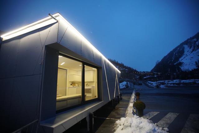 Biosphera 2 0 una casa a consumo zero ai piedi del monte for Internorm a torino