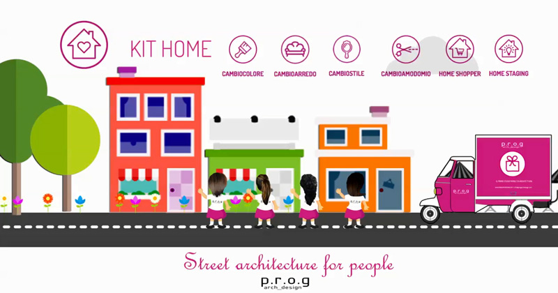 L'architettura e il design diventano itineranti con Street architecture for people