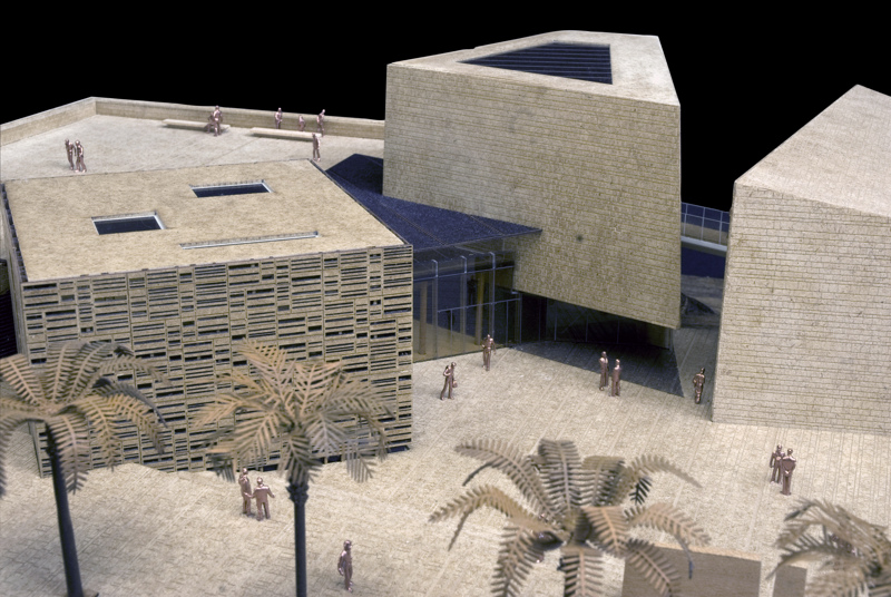 Addiriyah Art Center, vincitore dell'Iconic Award, categoria Concept. Plastico