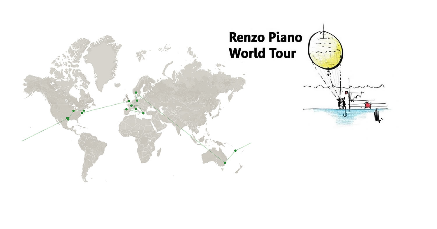 Renzo Piano World Tour 2018
