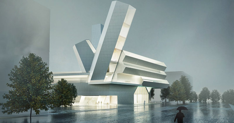 University College Dublin's Future Campus: vince il progetto iconico del team guidato da Steven Holl