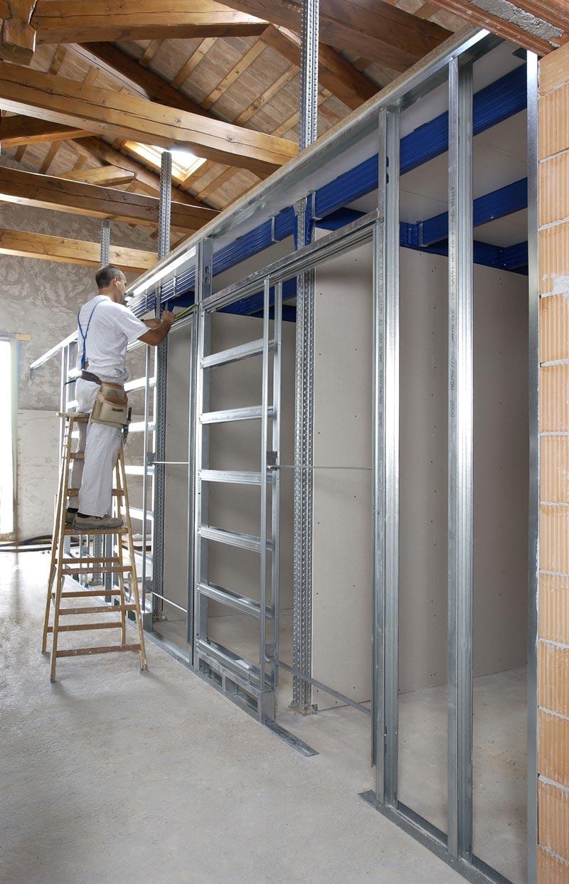 Porta Scorrevole Su Muro Portante porte scorrevoli e pareti in cartongesso: come funzionano i