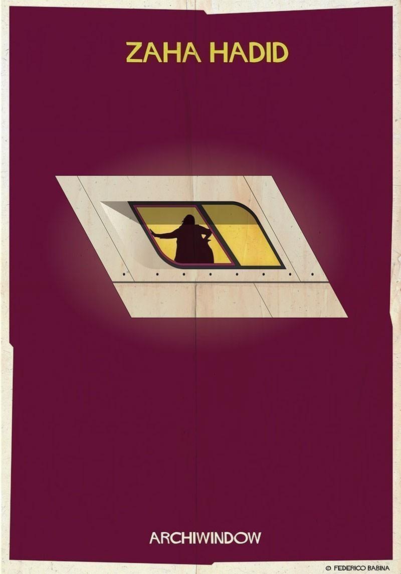 15 Architetti Famosi archiwindow. 25 grandi architetti affacciati alla finestra