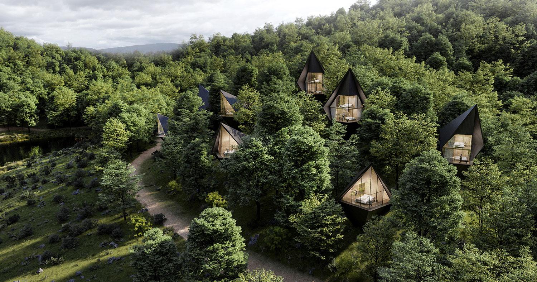 Le Tree Houses di Peter Pichler. Ecosostenibilità italiana negli Stati Uniti