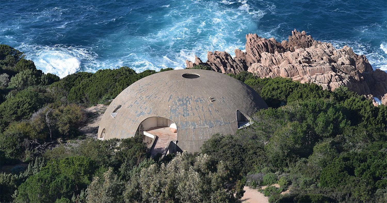 La Cupola di Dante Bini, per Antonioni e Monica Vitti, candidata a Luogo del Cuore FAI 2020
