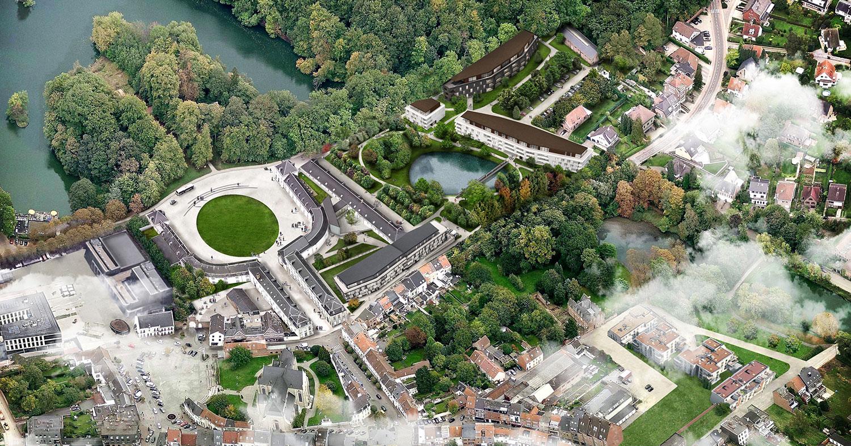 Tervuren (Belgio), C+S Architects avvia la maxi-operazione di rigenerazione delle ex scuderie reali