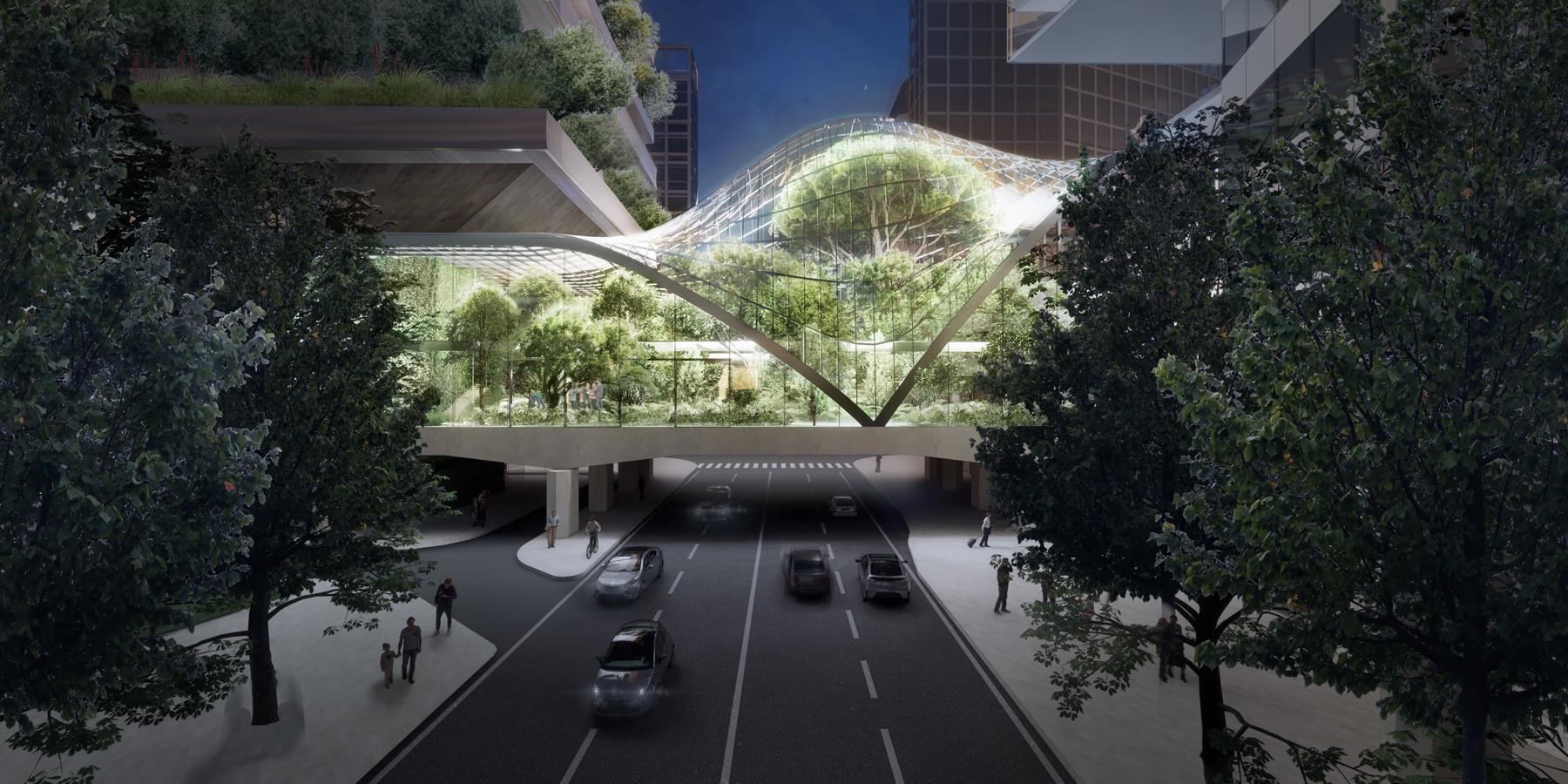 Torre botanica e ponte-serra per Pirelli 39: svelato il progetto di Stefano Boeri Architetti - Diller Scofidio + Renfro