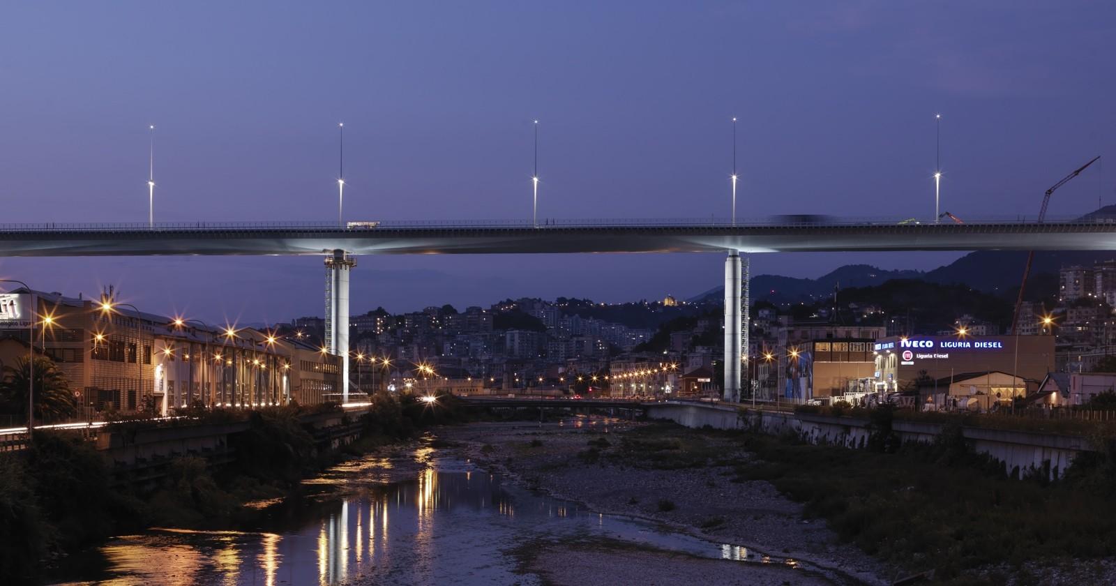 Ponte San Giorgio, Renzo Piano: «Il più bel cantiere della mia vita»
