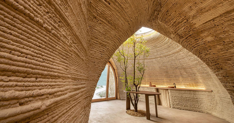 TECLA, il modulo abitativo di Mario Cucinella stampato in 3D in terra cruda