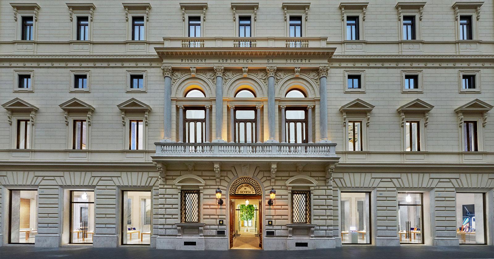 Roma. Si spalancano le porte [finalmente] del nuovo Apple Store