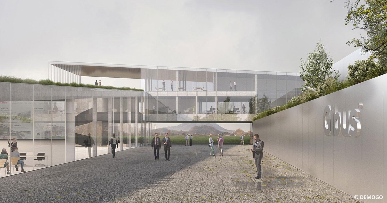 The Sun Factory. Demogo realizzerà la sede aziendale di Gibus, ai piedi dei Colli Euganei