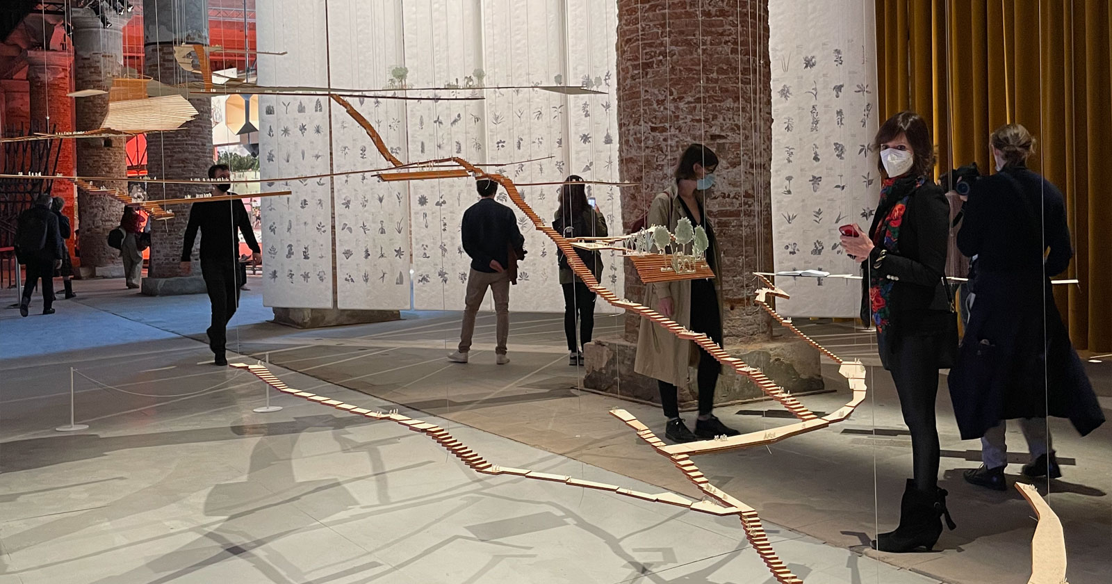 Considerazioni a latere dell'opening della Biennale Architettura 2021