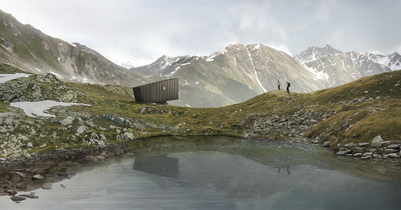 Memoria in dialogo con le cime: il bivacco con vista Gran Paradiso va a tre giovani progettisti