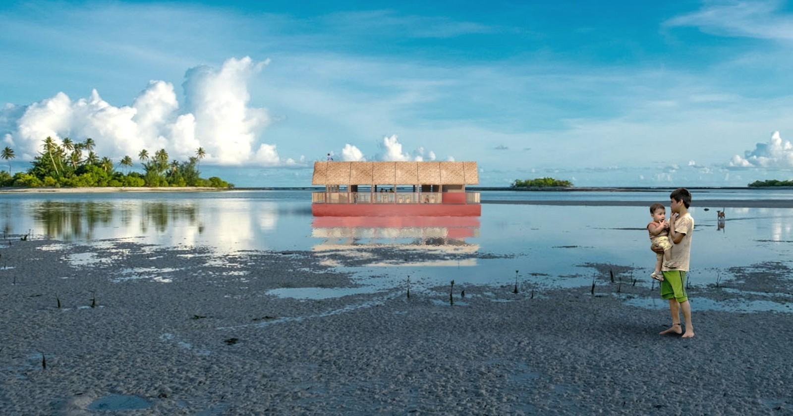 Una scuola-catamarano che viaggia tra gli atolli del Pacifico