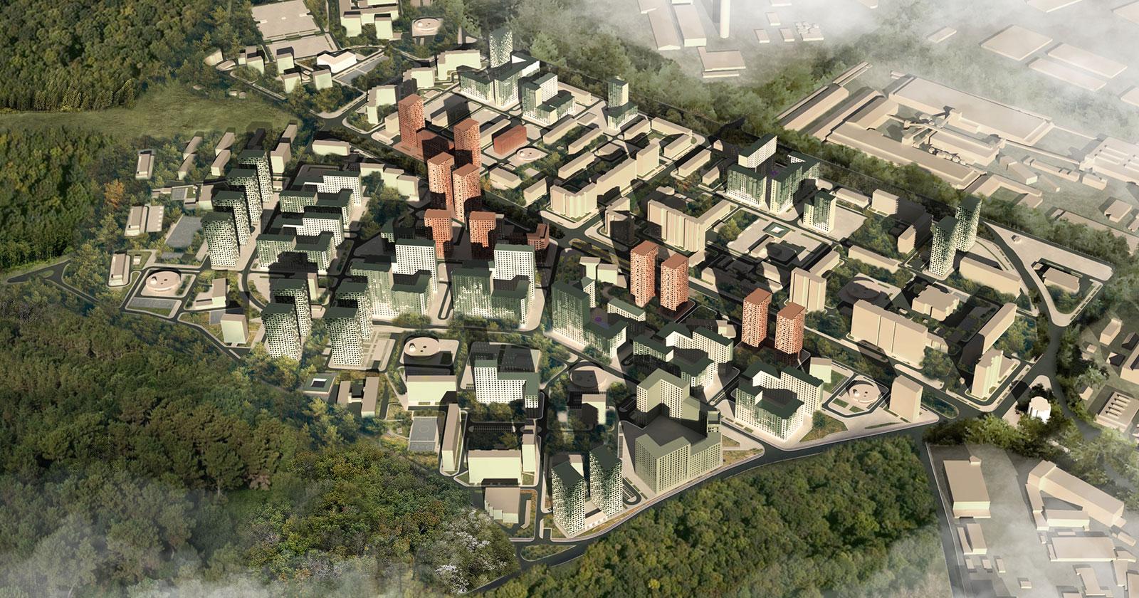 C+S Architects con Citizenstudio si aggiudica il concorso per ridisegnare il volto di Mosca