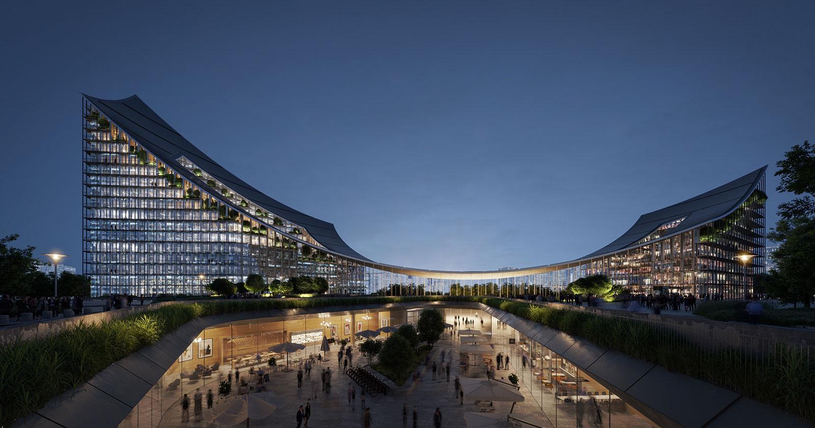 Al via il cantiere di CityWave, l'edificio-portale di CityLife firmato BIG - Bjarke Ingels Group